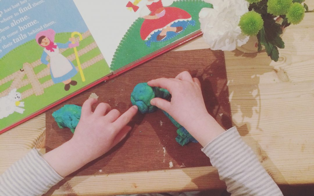 playdough nursery rhymes