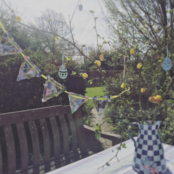 Easter Tree and Bunting